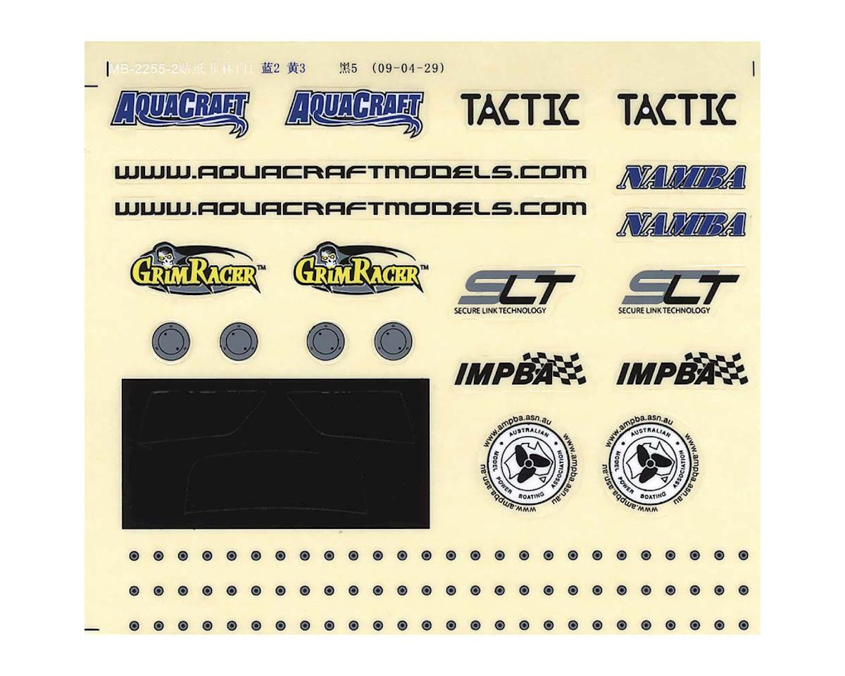 AquaCraft Decal Sheet Small Aquacraft Rio EP