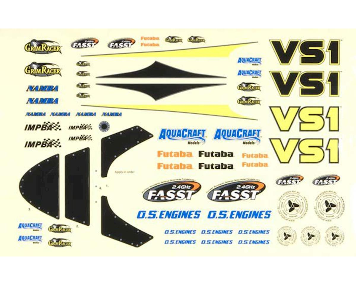 AquaCraft Decal Sheet Aquacraft VS1