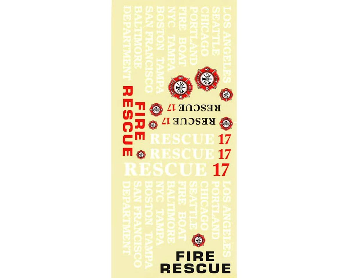 AquaCraft Decal Sheet Rescue 17