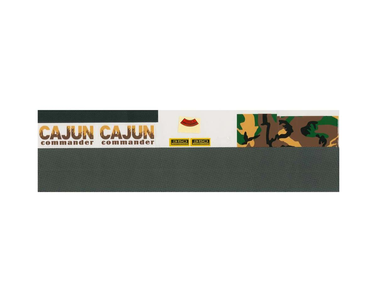 AquaCraft Decal Sheet Cajun Commander Airboat