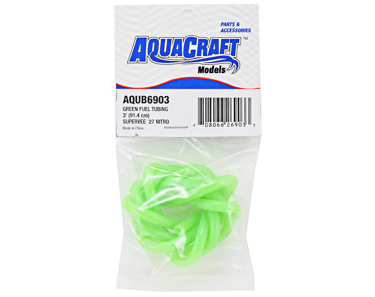 AquaCraft Fuel Tubing (Green) (3')