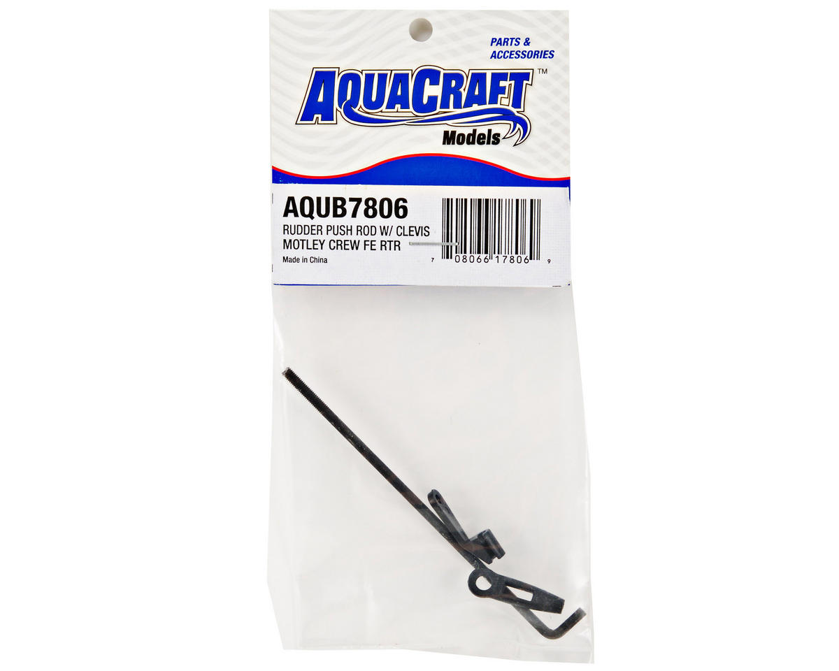 Rudder Pushrod w/Clevis by AquaCraft
