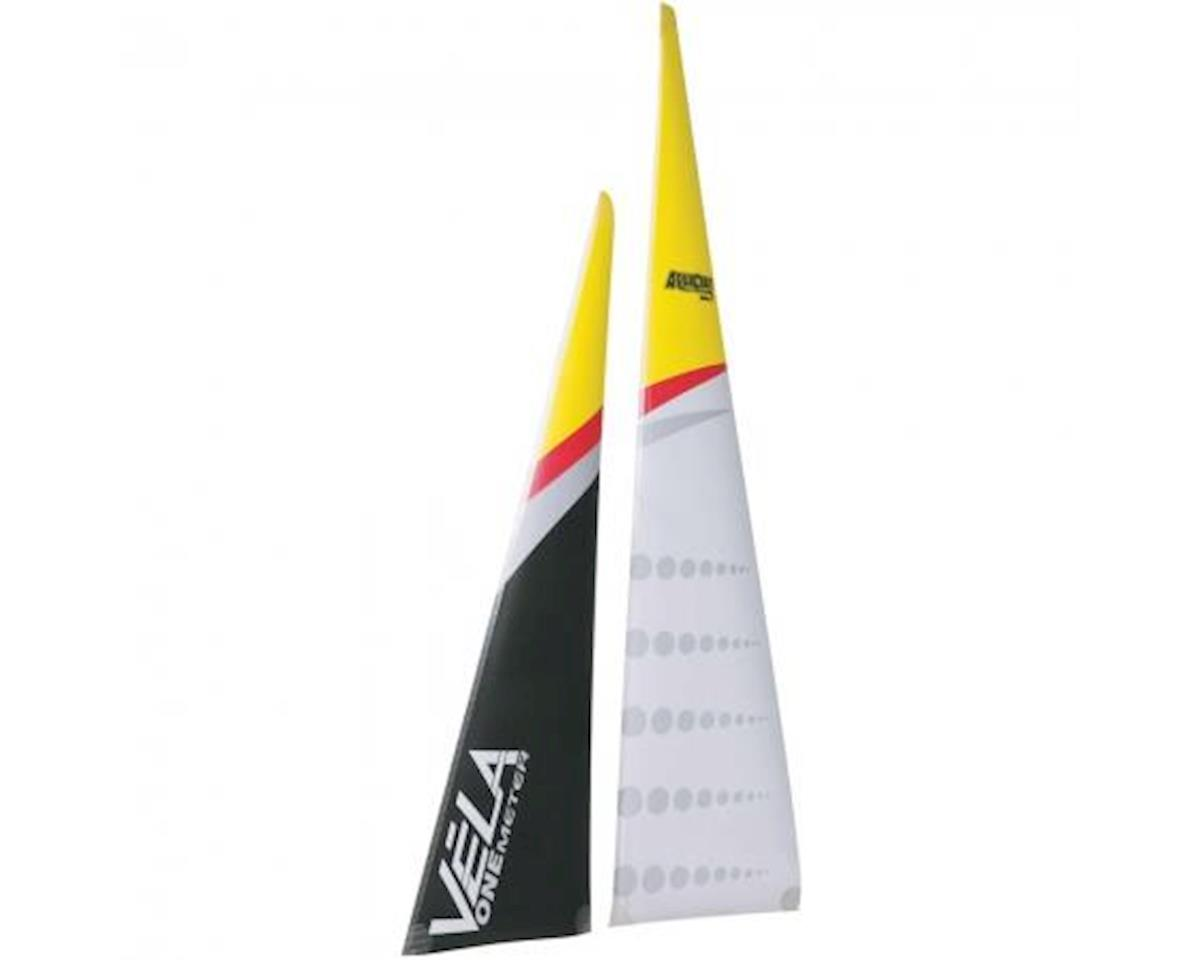 AquaCraft Main & Jib Sail Vela Sailboat
