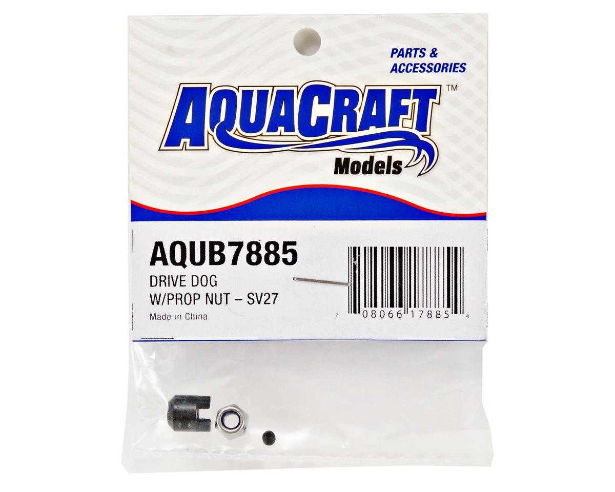 AquaCraft Drive Dog w/Prop Nut