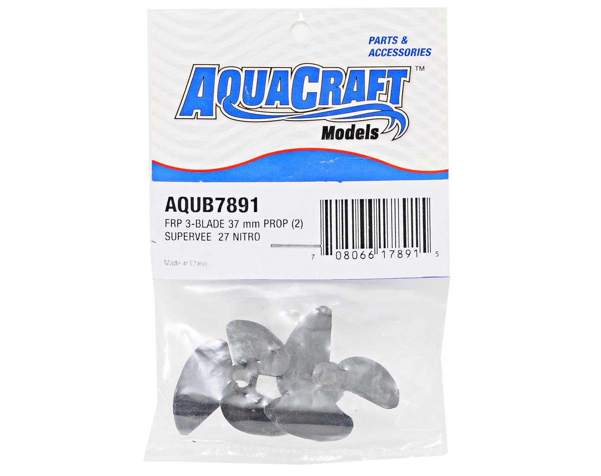 AquaCraft 37mm FRP 3-Blade Prop Set (2)