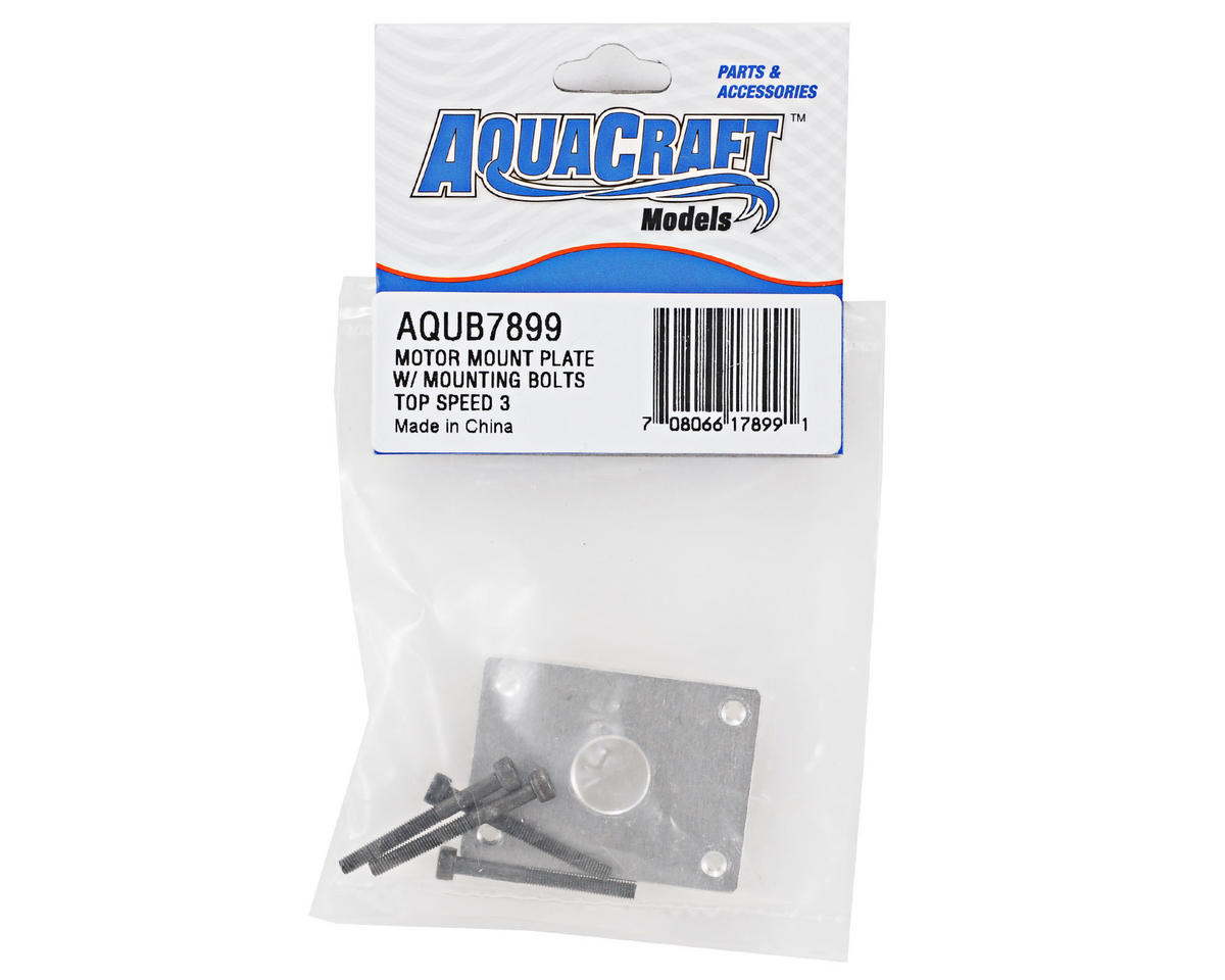 AquaCraft Motor Mount Plate w/Mounting Bolts