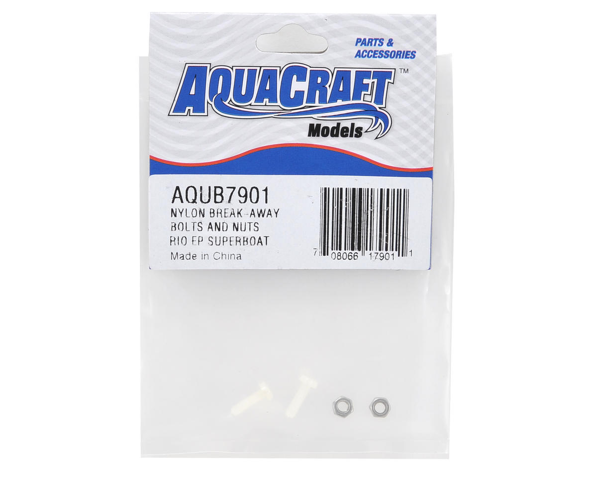 Nylon Break-Away Bolts & Nuts by AquaCraft