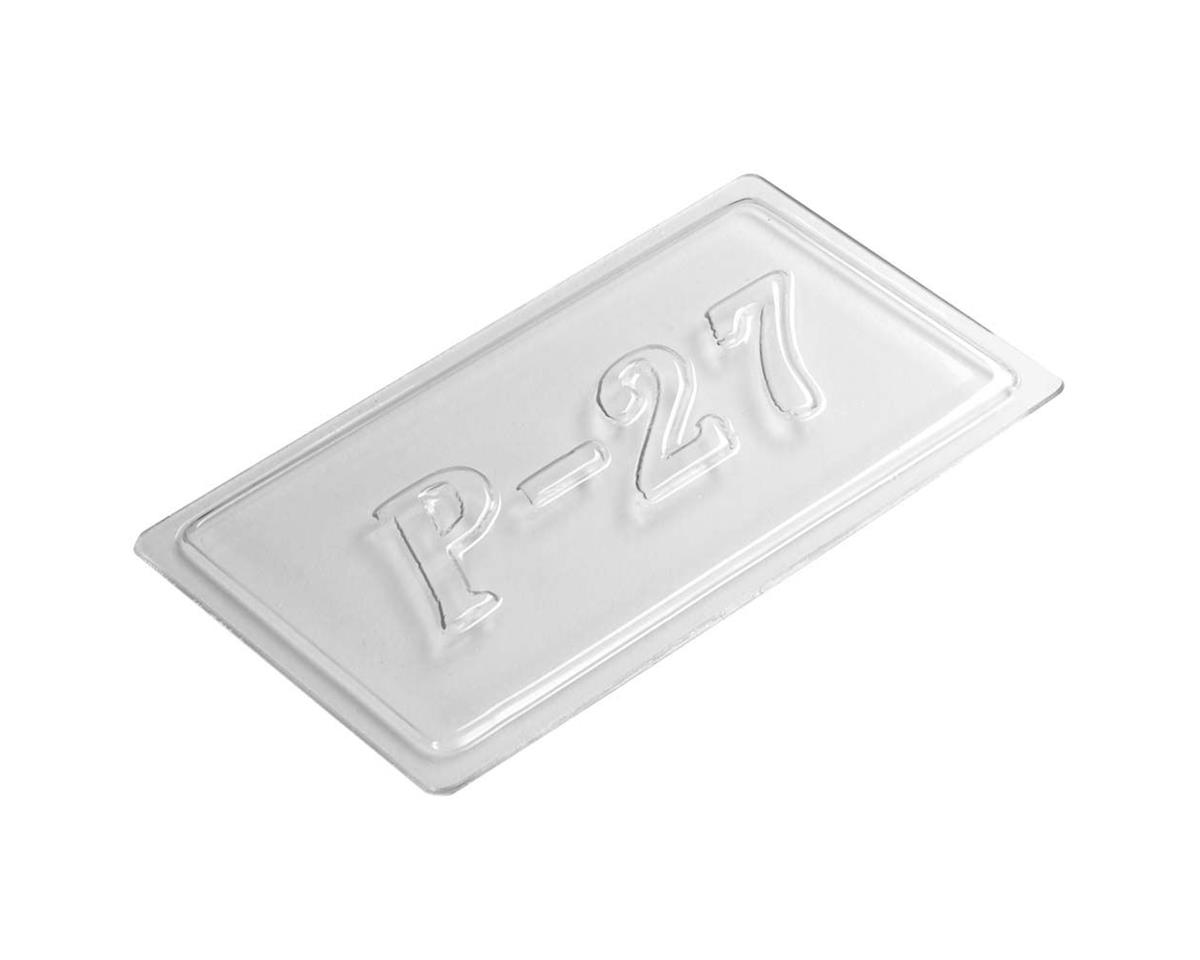AquaCraft Radio Box Lid P-27 Gunslinger Crackerbox