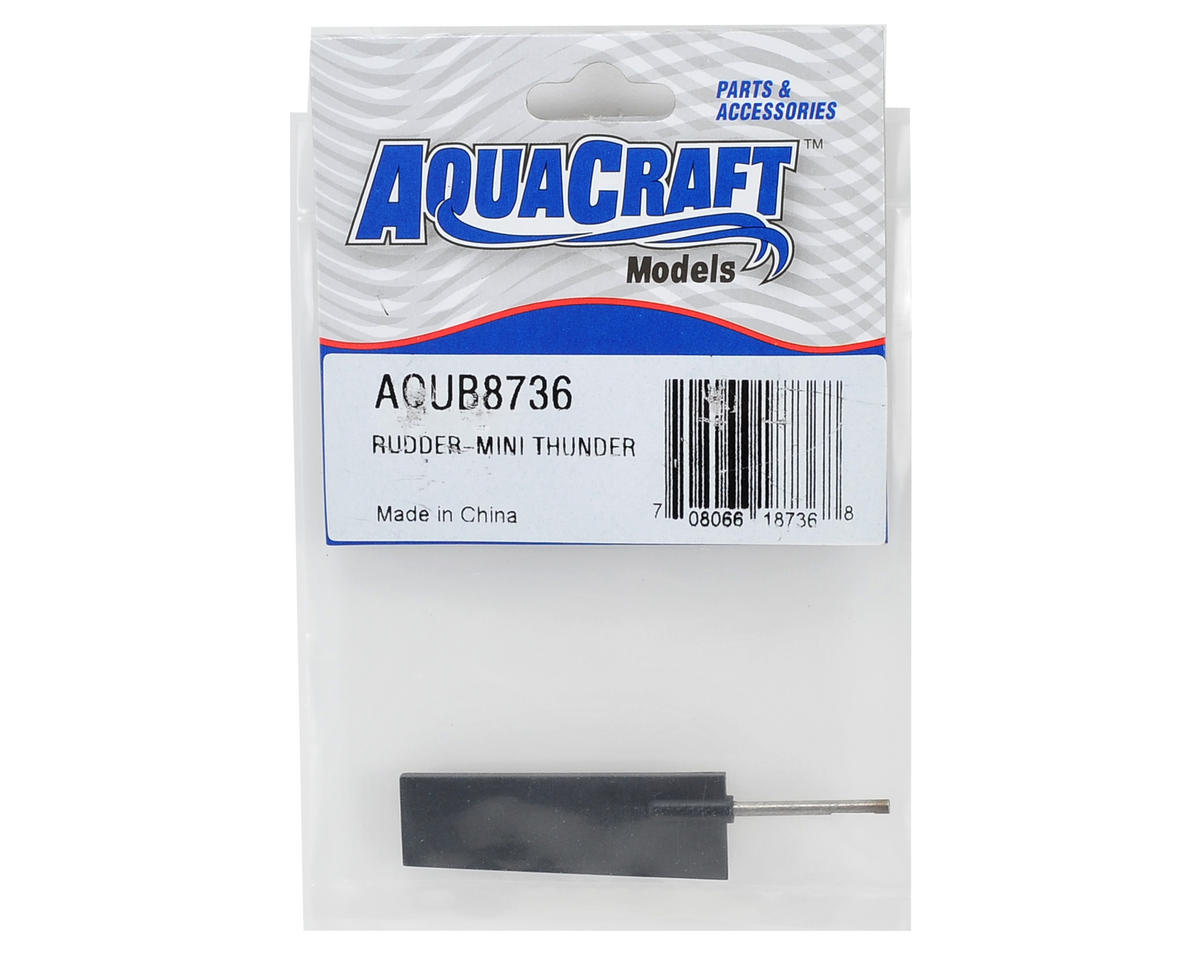 AquaCraft Rudder