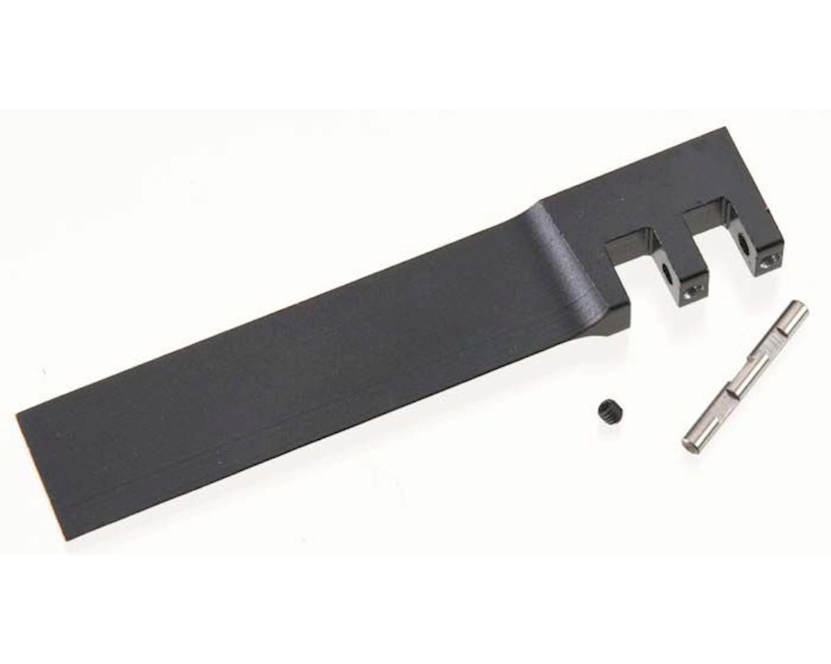 AquaCraft Rudder Blade w/Set Screws & Hinge Pin Black SV27R