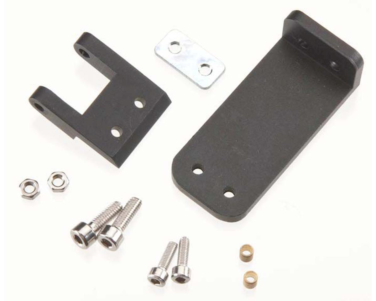 AquaCraft Rudder Bracket w/Mounting Hardware Black SV27R