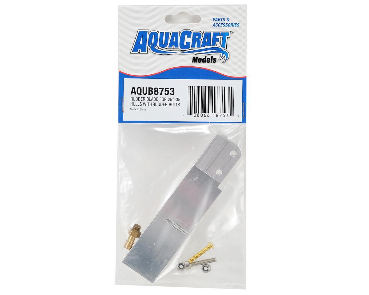 AquaCraft Rudder Blade 25-35  Hulls w/Rudder Bolts