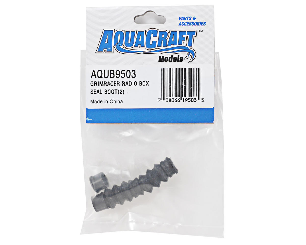 AquaCraft GrimRacer 2/56-4/40 Radio Box Seal Boot Set (2)