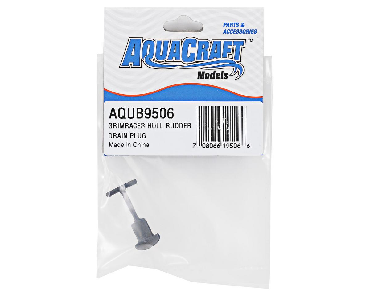 AquaCraft GrimRacer Hull Rubber Drain Plug