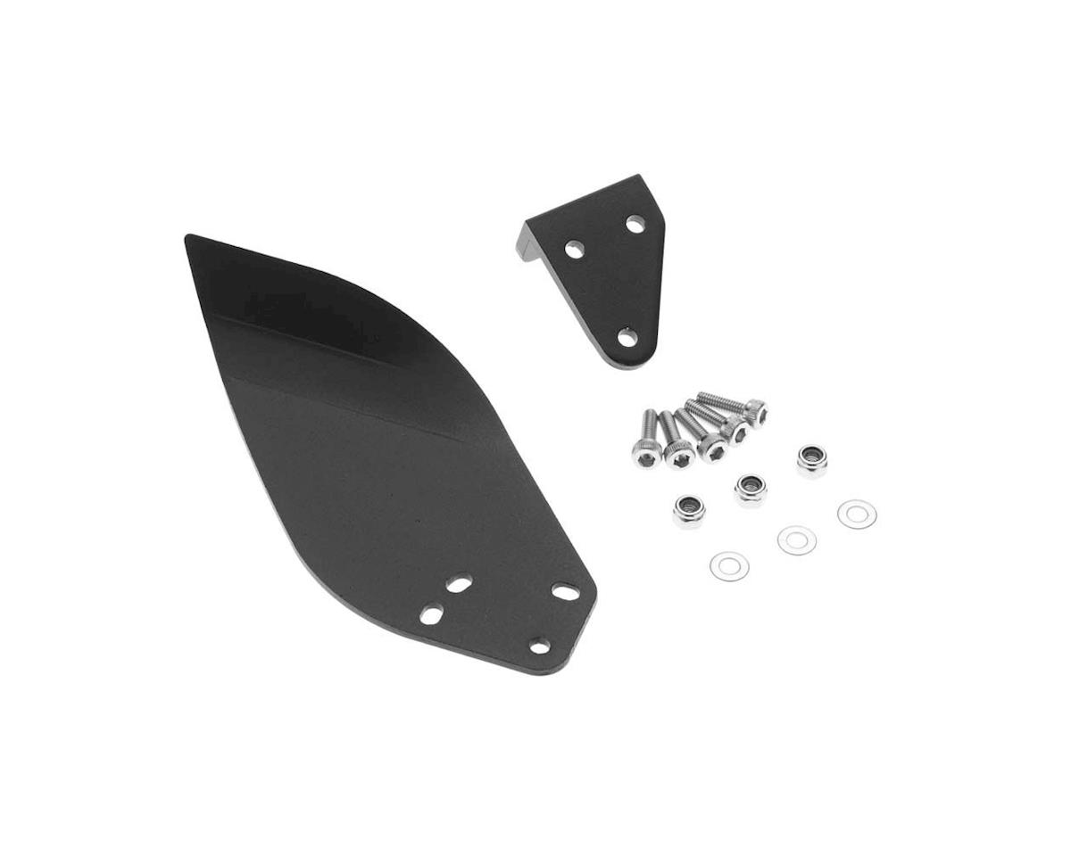 AquaCraft Hydro Turn Fin 2mm CNC Black Anodized UL-1