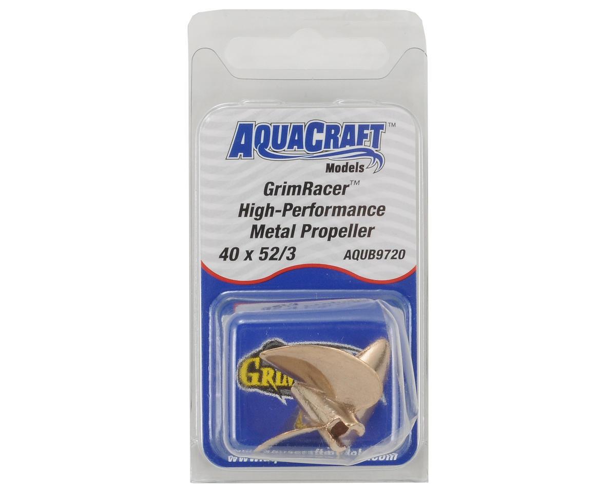 AquaCraft GrimRacer 40x52 3-Blade Copper-Beryllium Prop
