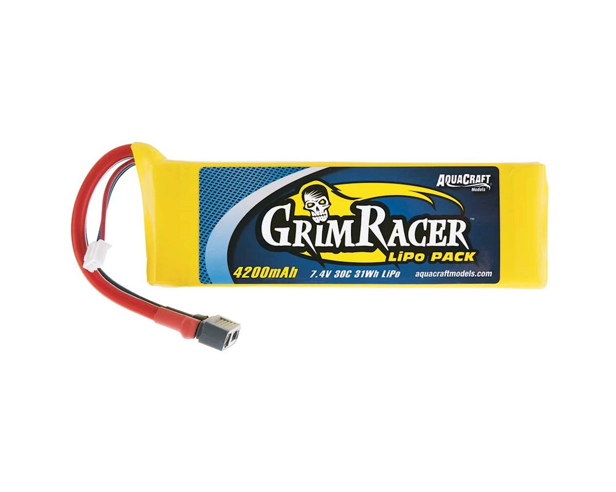 AquaCraft LiPo GrimRacer 2S 7.4V 4200mAh 30C