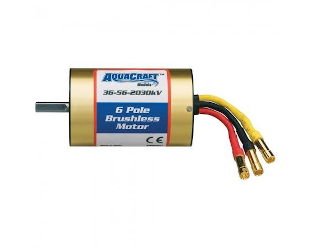 AquaCraft Brushless 6-Pole Marine Motor 36-56-2030 UL1