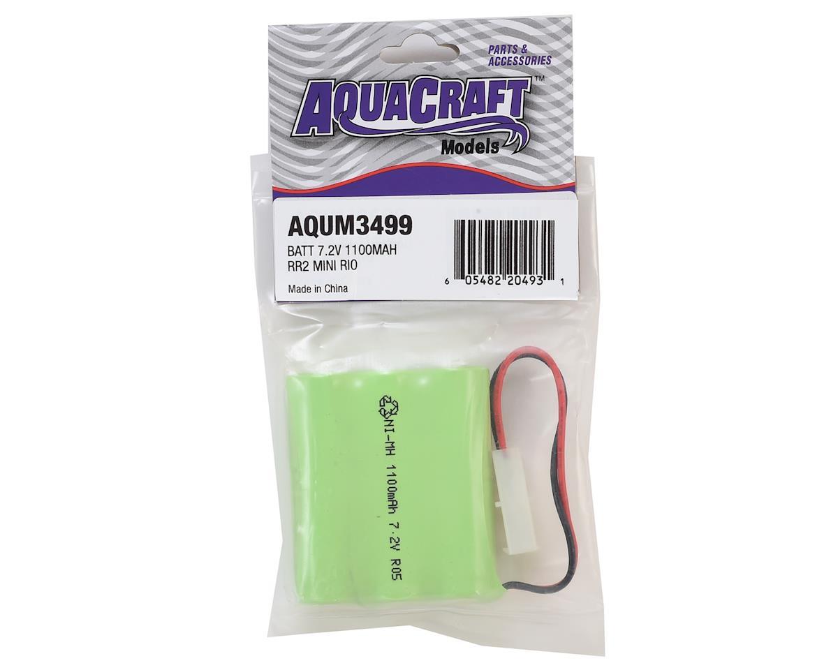 AquaCraft 6-Cell NiMH Battery Pack (7.2V/1100mAh) (River Racer 2 & Mini Rio)