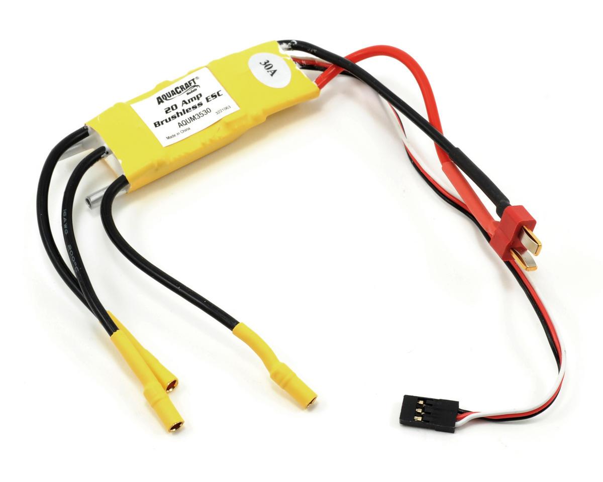 AquaCraft 20-Amp Brushless ESC (Minimono)