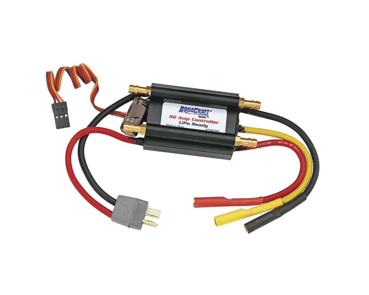 AquaCraft 50-Amp 14V Water Cooled Marine Controller LiPO Ready