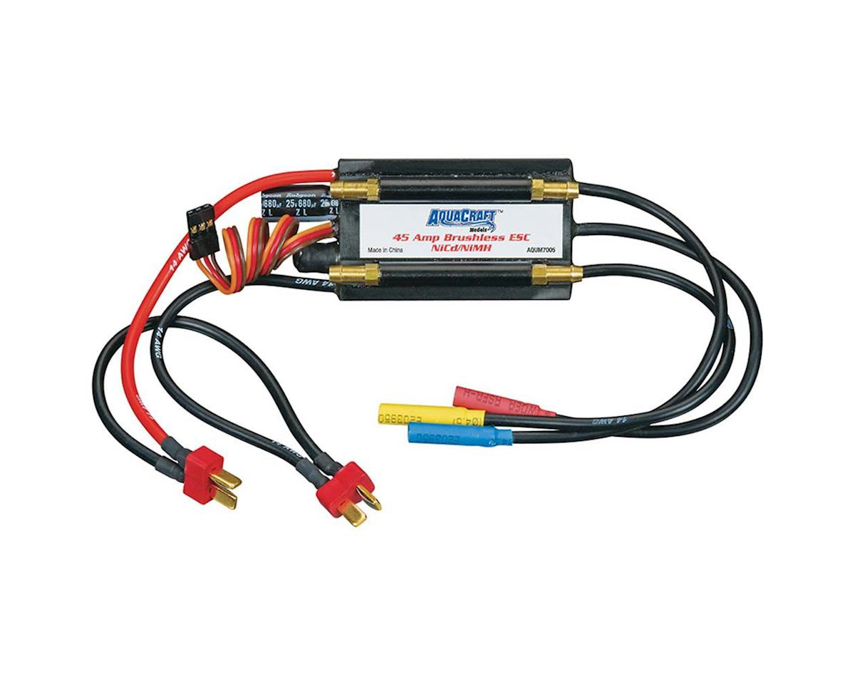 AquaCraft Marine Brushless 45 Amp Water Cooled NiMH ESC