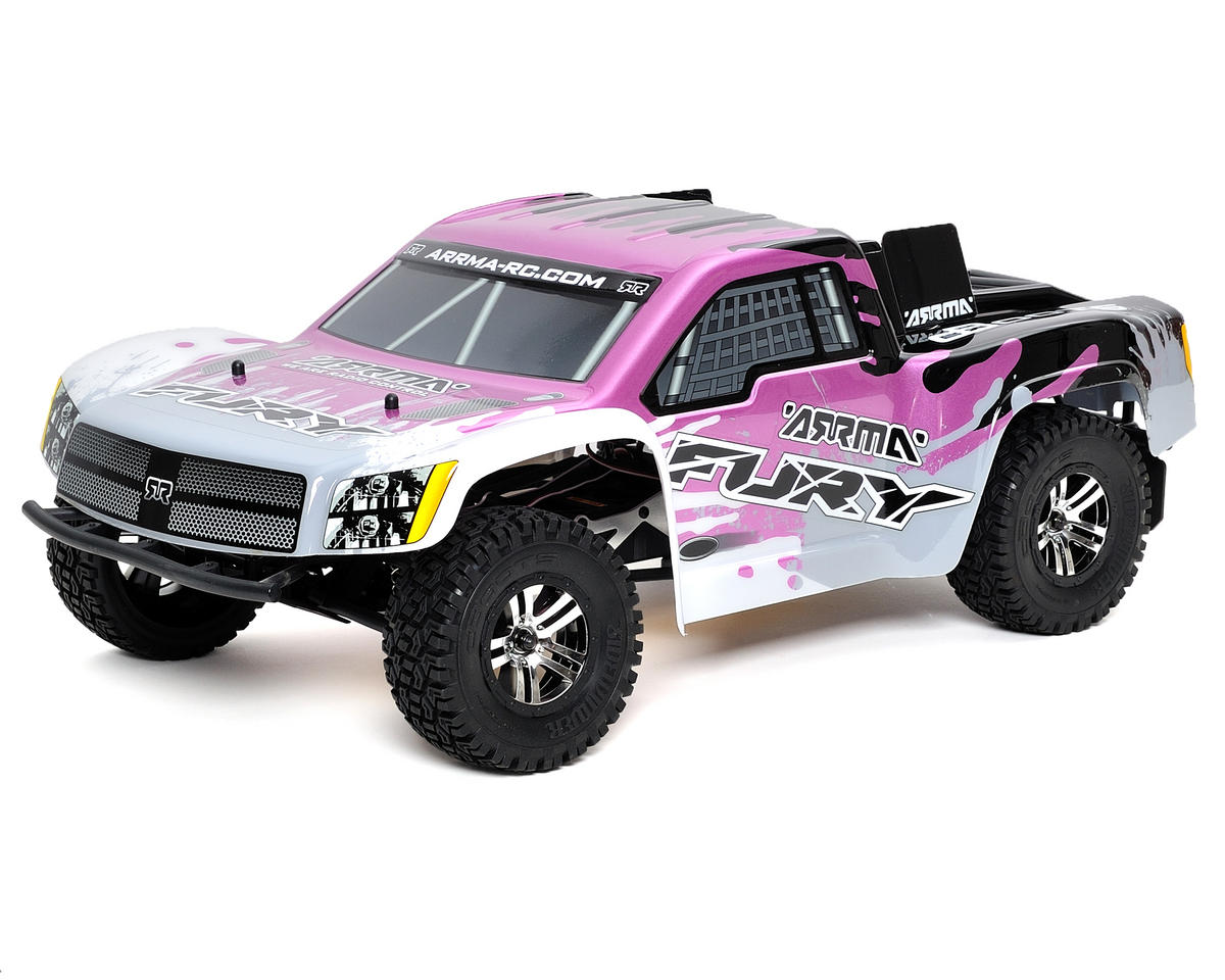 Arrma Fury 1/10 Scale Electric RTR Short Course Truck w/ATX300 2.4GHz Radio System (Purple)