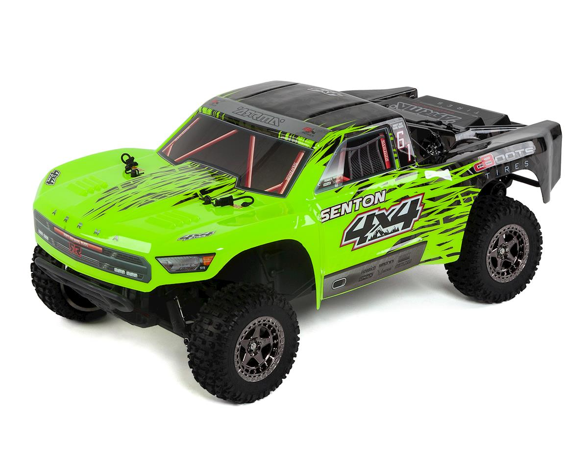 Senton 4X4 3S BLX 1/10 RTR Brushless Short Course Truck (Green/Black) by Arrma