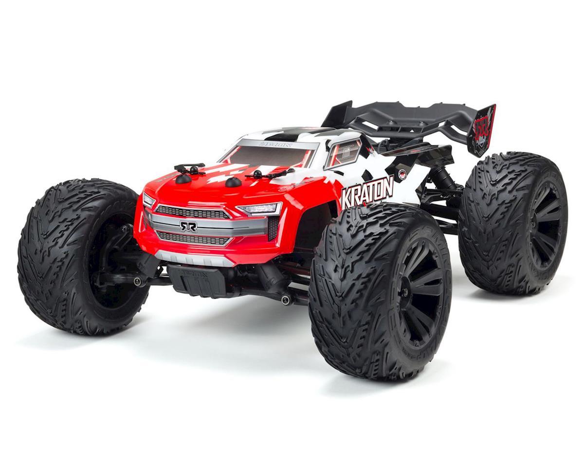Arrma Kraton 4S BLX RTR 1/10 4WD Brushless Monster Truck (Red)
