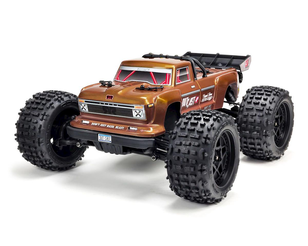 Arrma Outcast 4S BLX Brushless RTR 1/10 Stunt Truck (Bronze) | relatedproducts