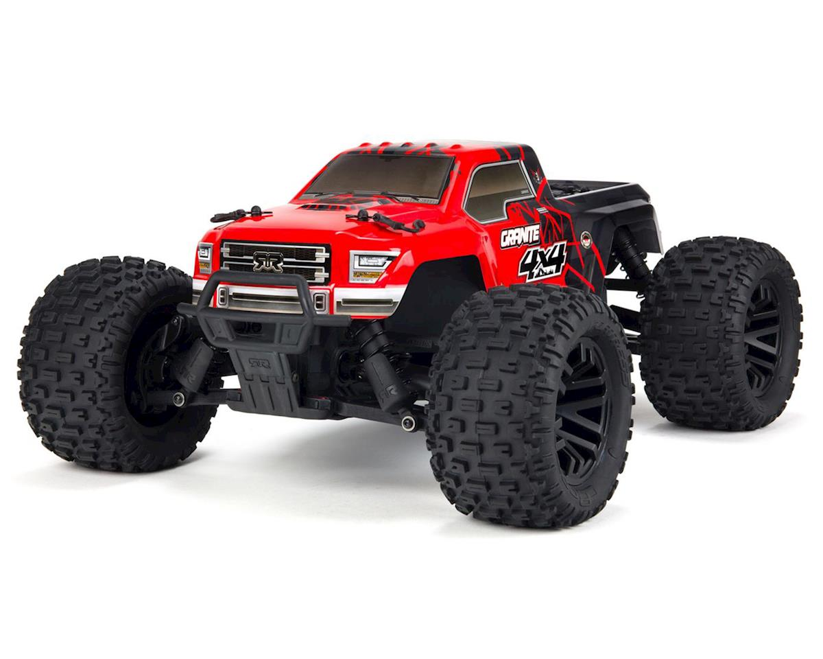 Arrma Granite 4x4 Mega Monster Truck RTR (Red/Black) | relatedproducts