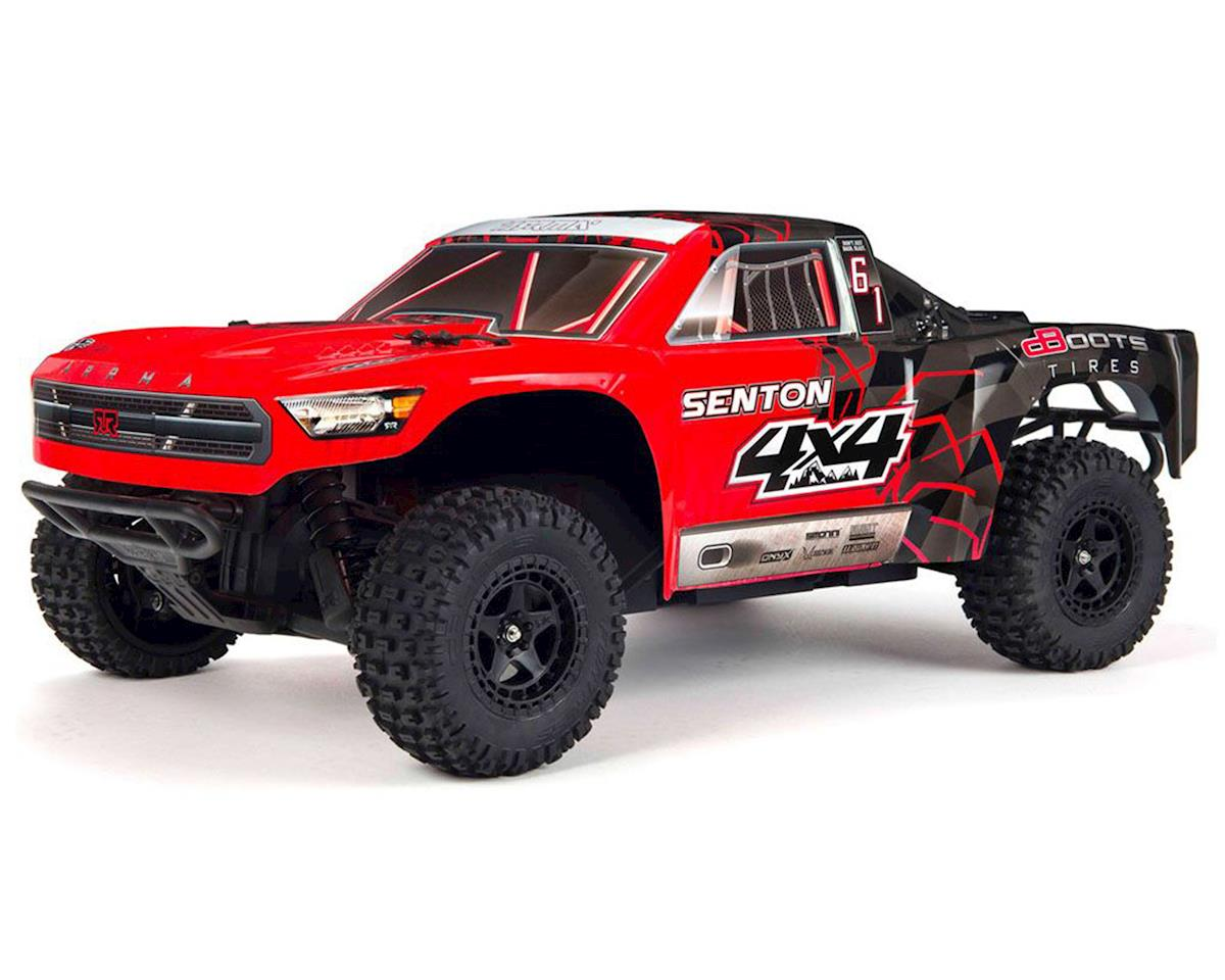 Arrma Senton 4x4 Mega 1/10 Short Course Truck RTR (Red/Black)