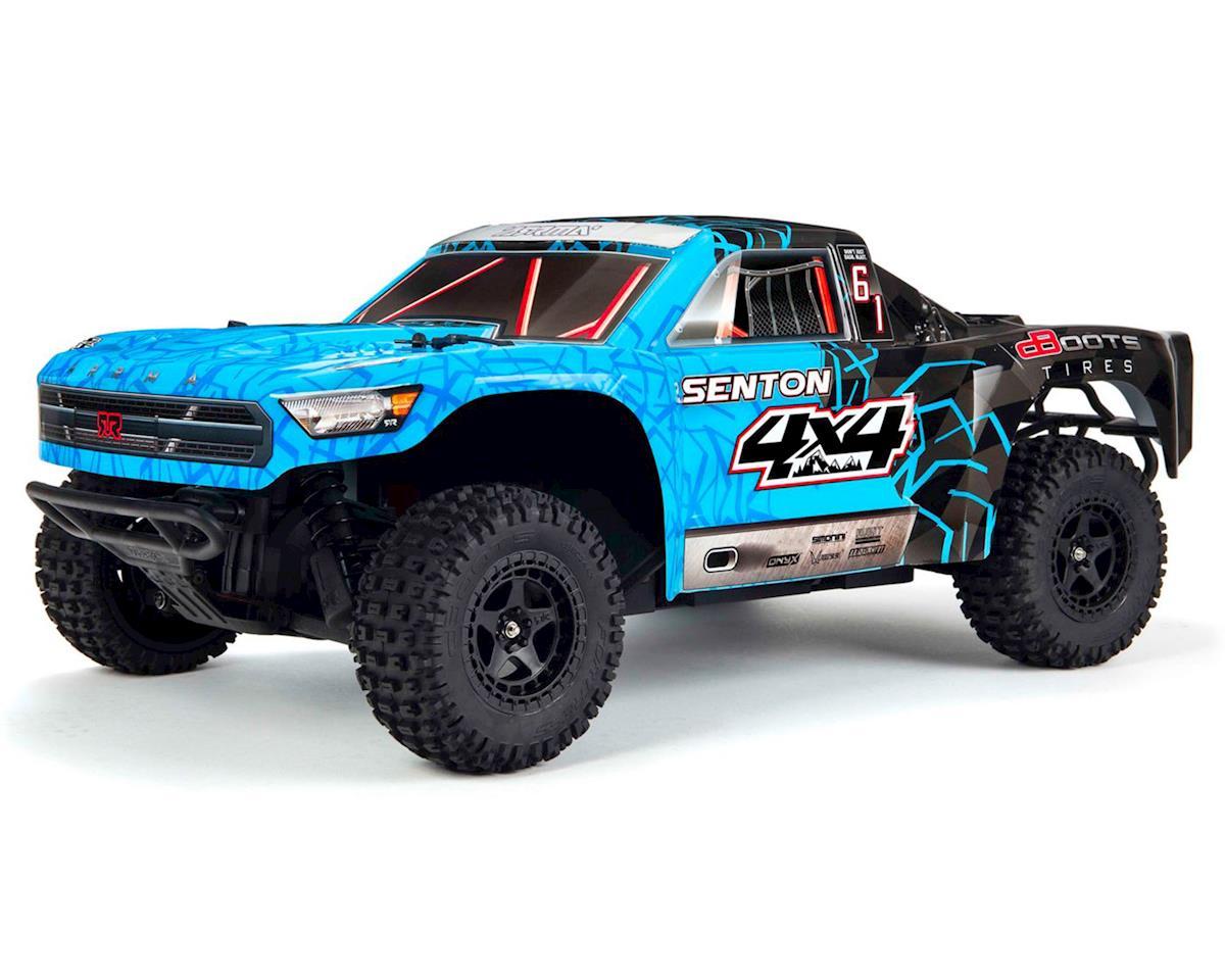Arrma Senton 4x4 Mega 1/10 Short Course Truck RTR (Blue/Black)