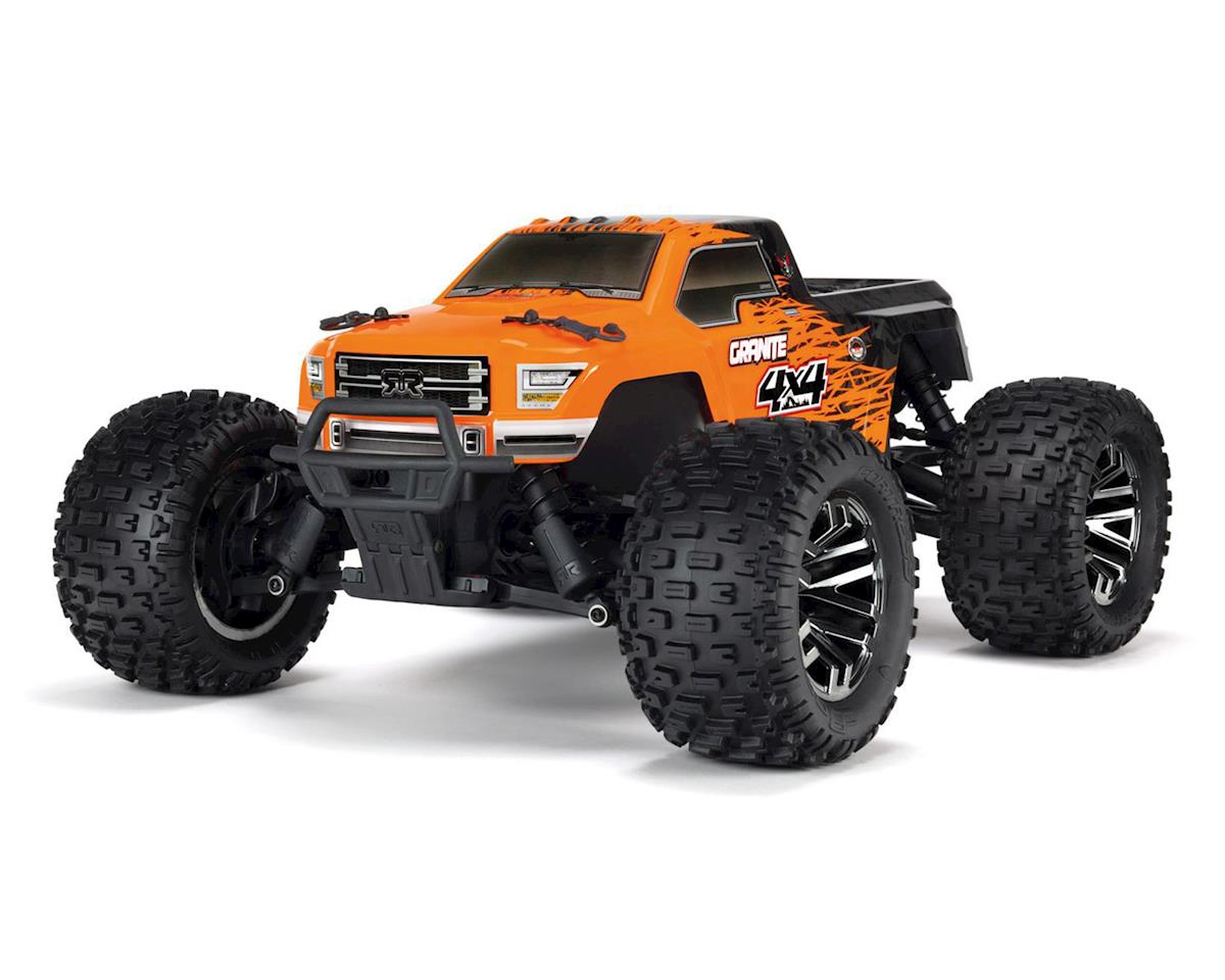 Arrma 1/10 Granite 4X4 3S BLX Brushless 4WD Monster Truck (Orange/Black)