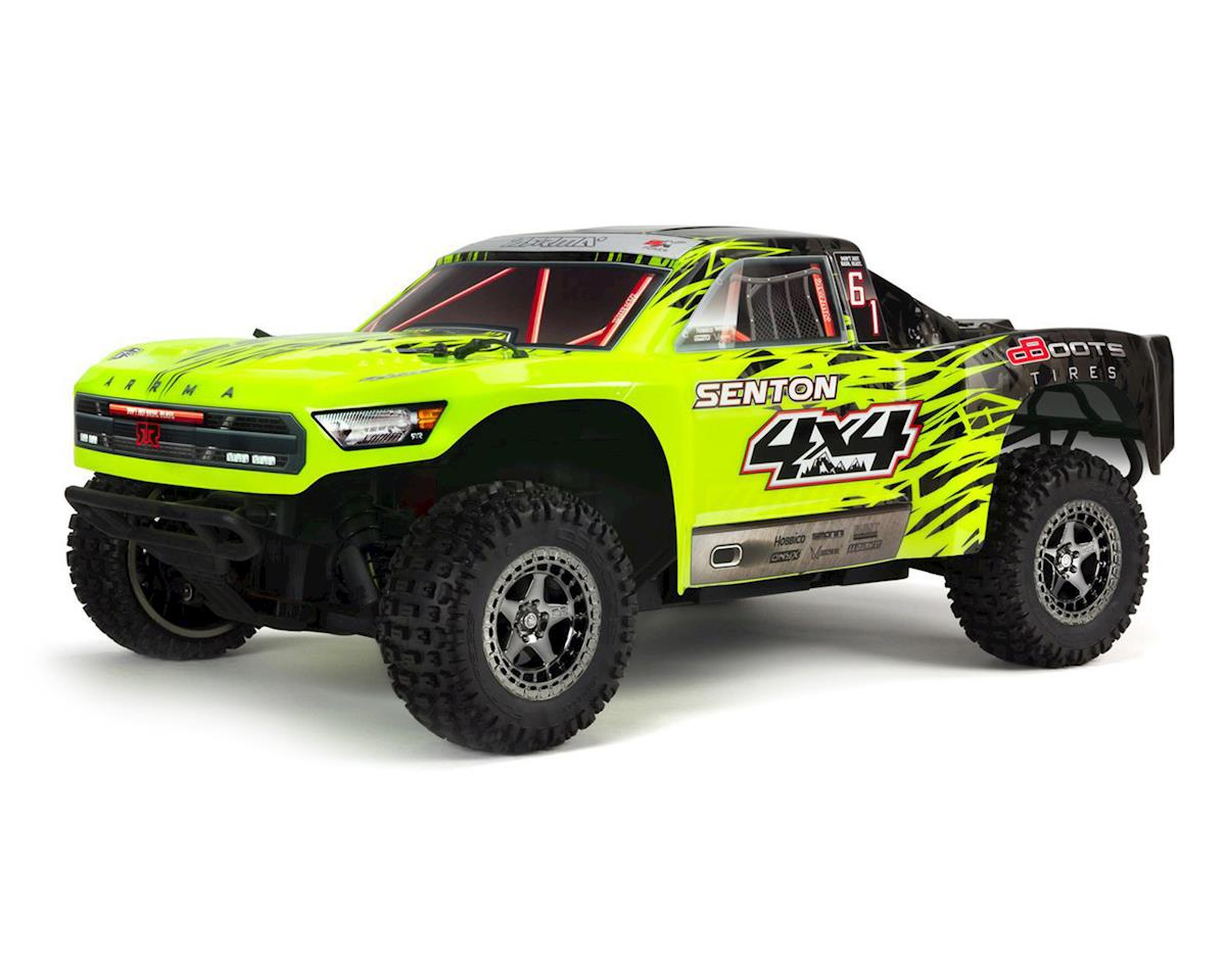 Arrma Senton 4X4 3S BLX 1/10 RTR Brushless Short Course Truck (Green/Black)