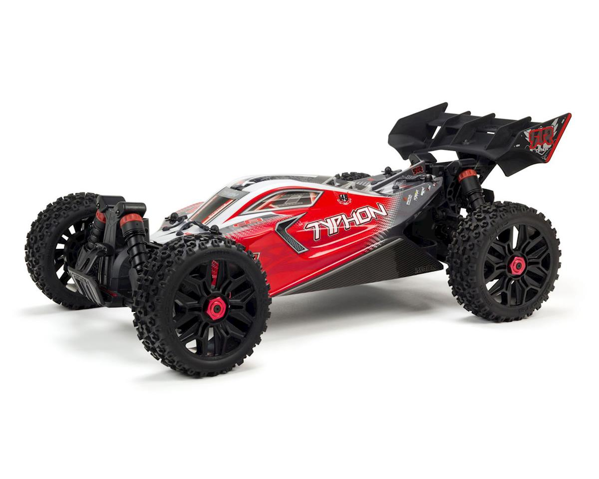Arrma Typhon 3S BLX Brushless RTR 1/8 4WD Buggy (Red) | alsopurchased