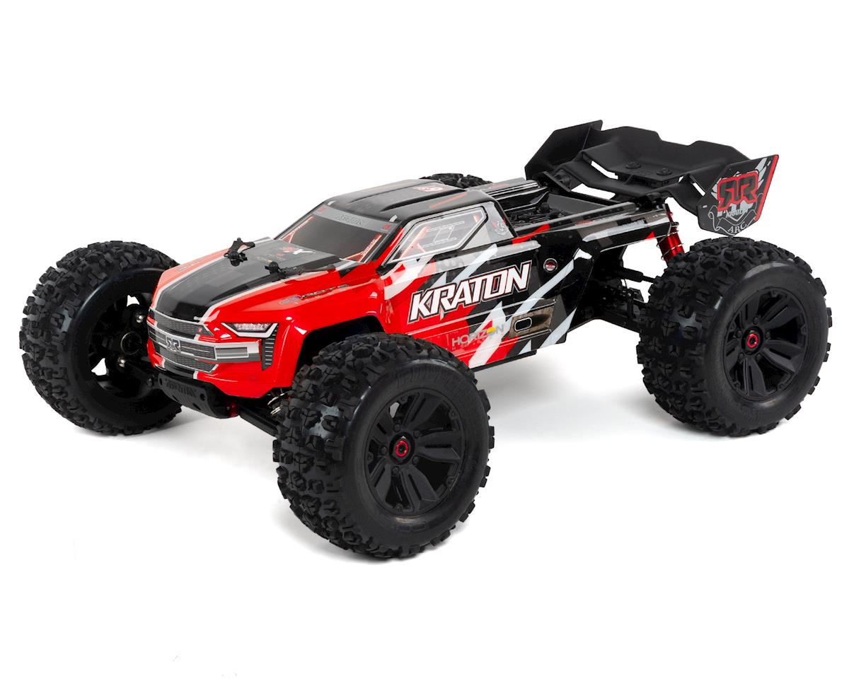 Arrma Kraton 6S BLX RTR 1/8 4WD Brushless Monster Truck (Red) (V4)