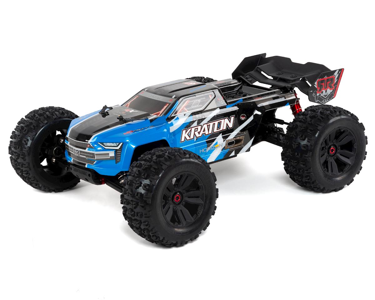 Arrma Kraton 6S BLX Brushless RTR 1/8 4WD Monster Truck (Blue) (2019 V4)