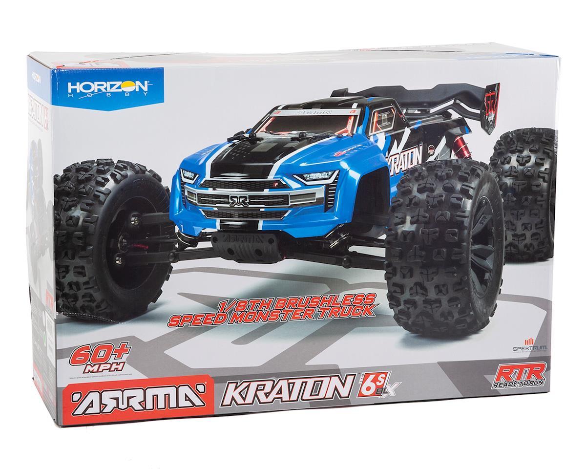 Image 7 for Arrma Kraton 6S BLX Brushless RTR 1/8 4WD Monster Truck (Blue) (V4)