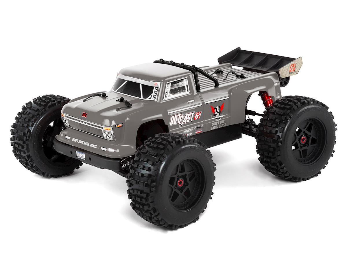 Arrma Outcast 6S BLX Brushless RTR Monster Stunt Truck (Silver) (V4) | relatedproducts