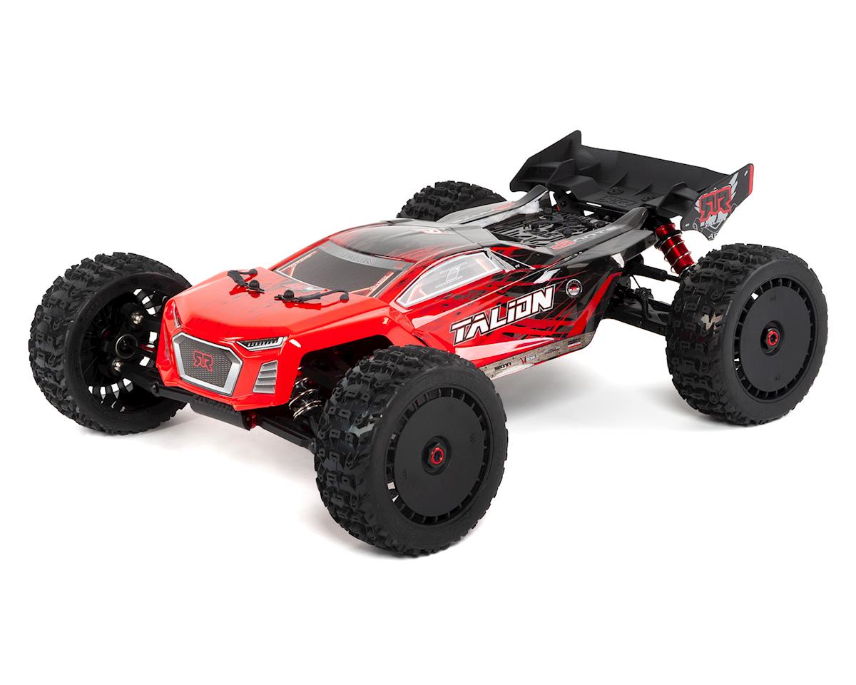 Arrma Talion 6S BLX Brushless RTR 1/8 4WD Truggy (Red/Black)