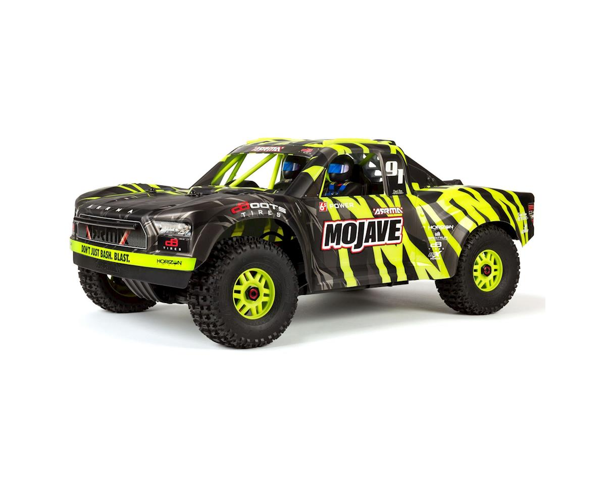 Arrma Mojave 6S BLX Brushless 1/7 RTR Electric 4WD RTR Desert Racer(Black/Green)