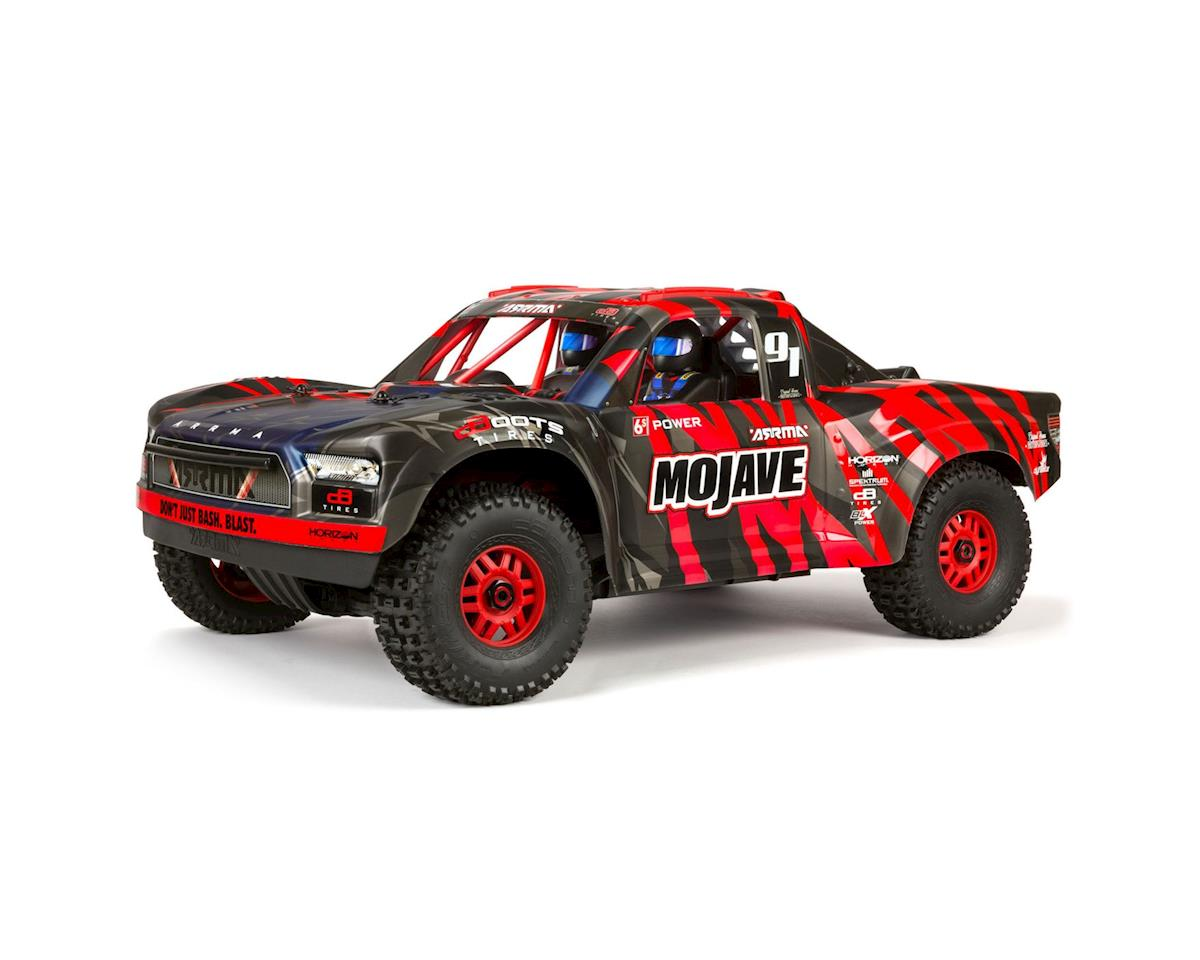 Arrma Mojave 6S BLX Brushless 1/7 RTR Electric 4WD RTR Desert Racer (Black/Red)