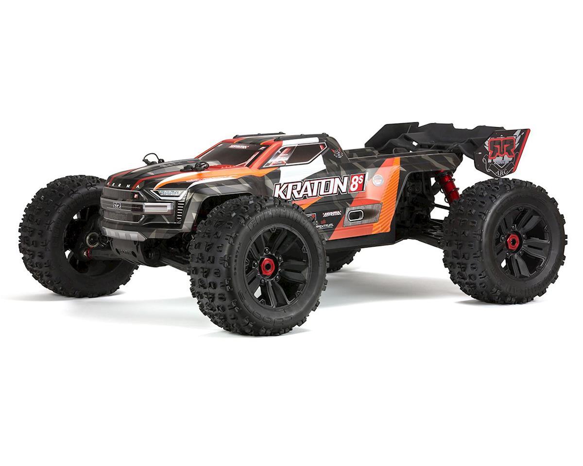 Arrma Kraton 8S BLX Brushless RTR 1/5 4WD Monster Truck (Orange)
