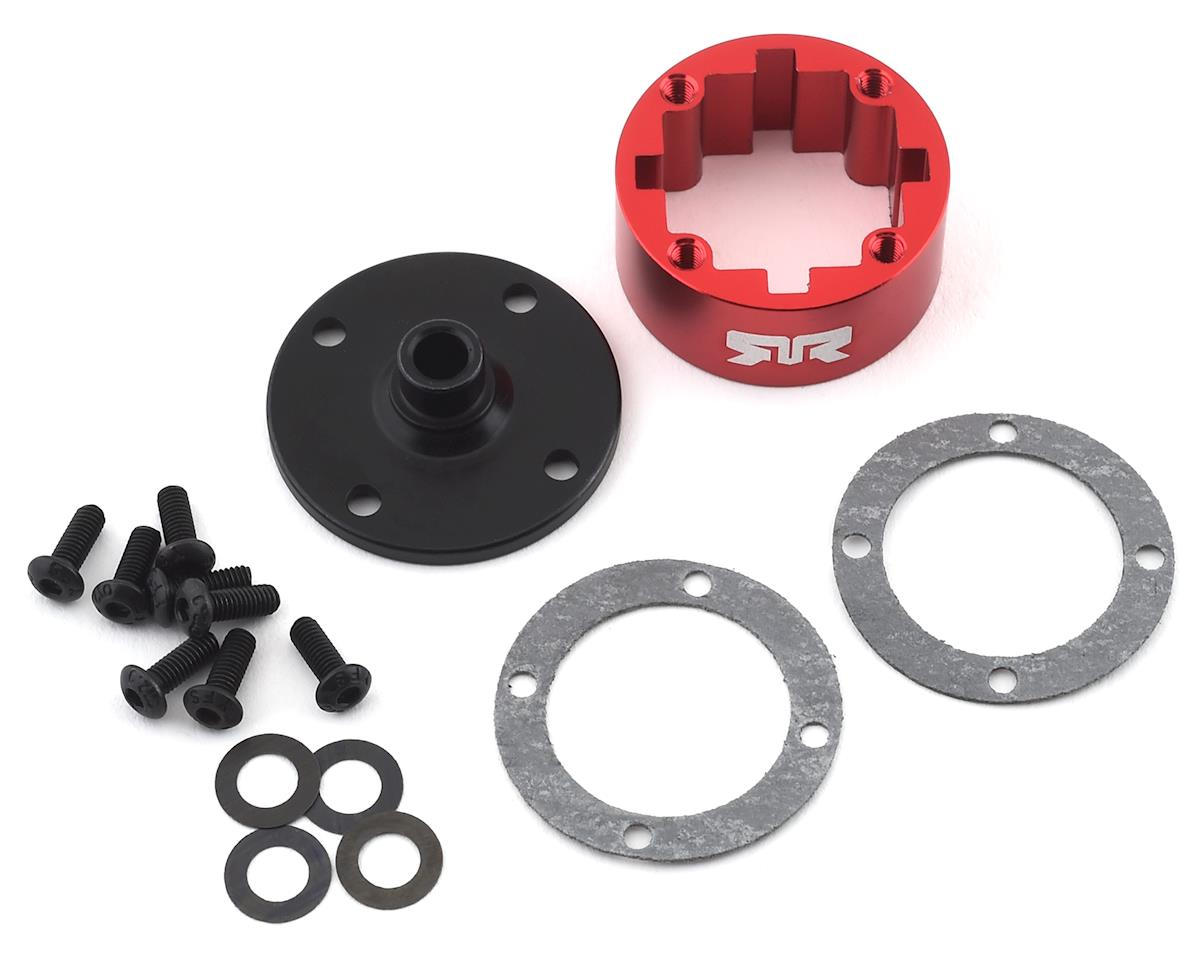 Arrma 6S BLX Metal Differential Case (Red)
