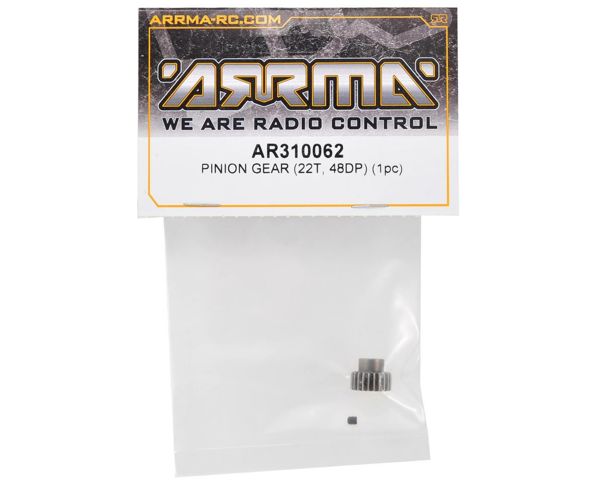 Arrma 48P Pinion Gear (3.17mm Bore) (22T)