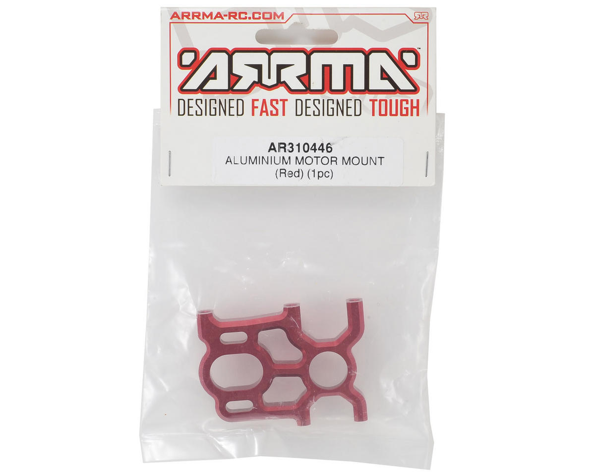 Arrma Aluminum Motor Mount (Red)