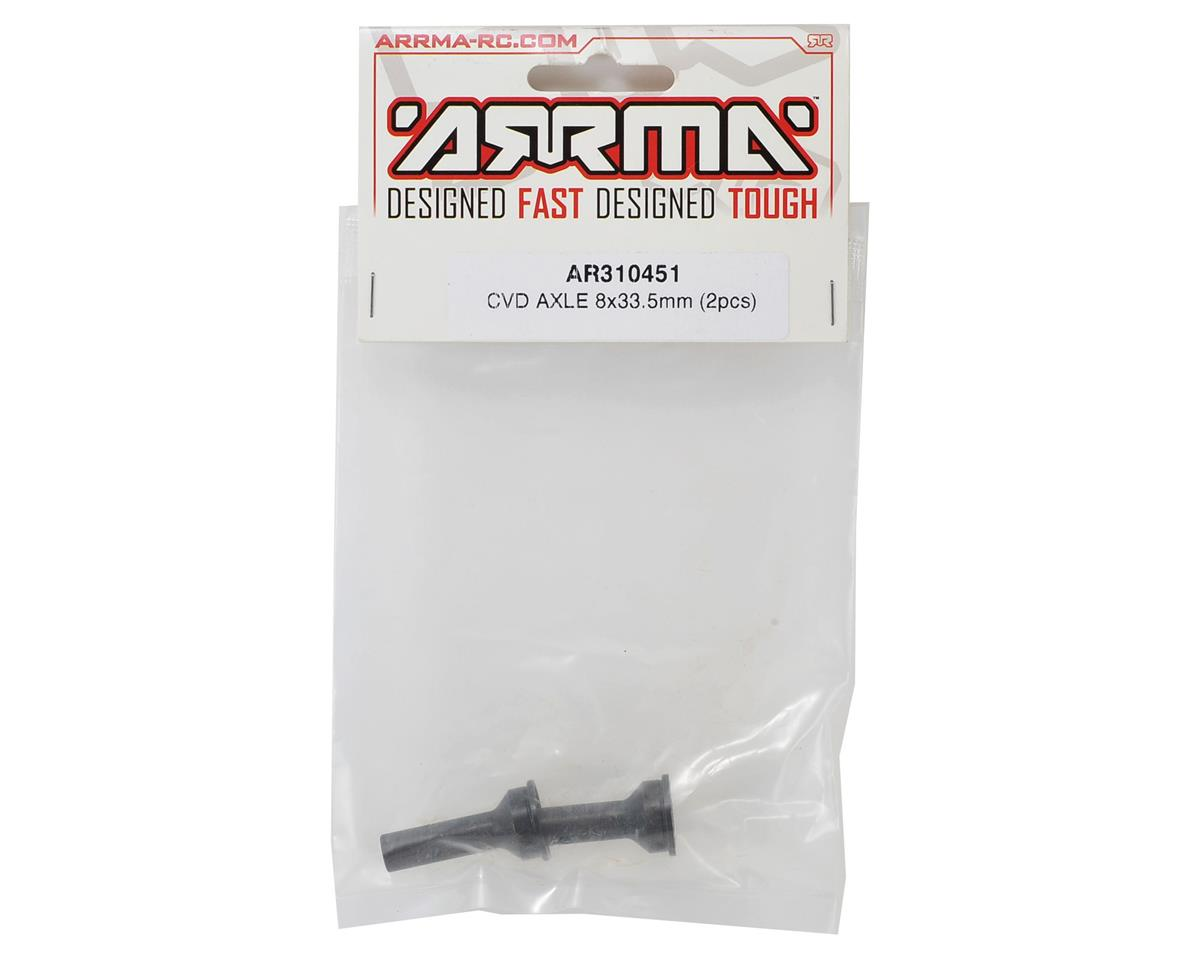 Arrma 8x33.5mm CVD Axle (2)