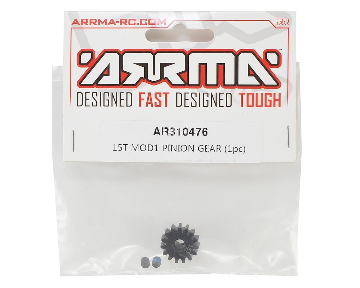 Arrma Steel Mod1 Pinion Gear (w/5mm Bore) (15T)