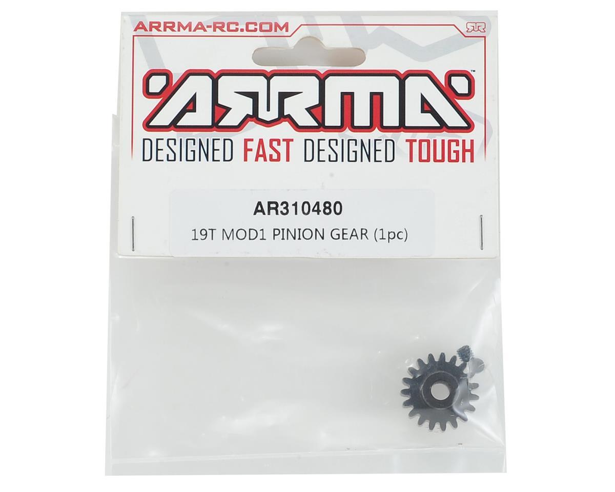 Arrma Steel Mod1 Pinion Gear (w/5mm Bore) (19T)